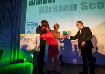 Outstanding Achievement - Kirsten Scott