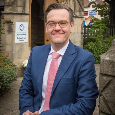 Rob Williamson, Chief Executive, Community Foundation Tyne & Wear and Northumberland