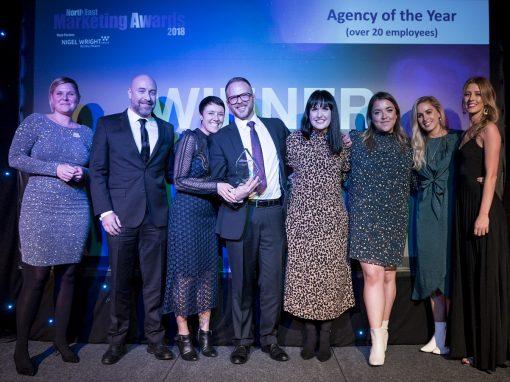 North East Marketing Awards 2018 – Newcastle
